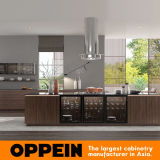Oppein Modern Natural Elegant Zen-Like Wood Melamine Kitchen Cabinets (OP17-HPL02)