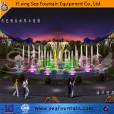 Sculpture Fountain Stainless Steel Water Pool Music Fountain