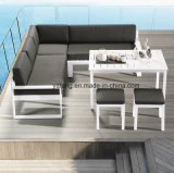 New Design Outdoor Patio Furniture Aluminum Sofa Set Sea Side Sofa Set