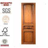 Wholesale Carved Solid Wooden Sliding Wardrobe Door (GSP21-002)