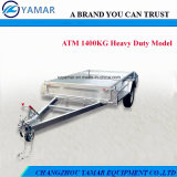 High Quality Galvanized Box Trailer for Sale