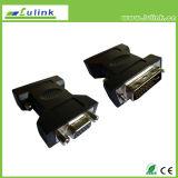 High Quality DVI (24+1) Male to VGA Female HDMI USB Connector Adaptor