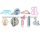Color Plastic Coated Paper Clips
