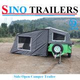 Powder Coating Soft Road Camper Trailer