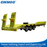 Heavy Duty Low Bed Semi Truck Trailers for Machine Transportation