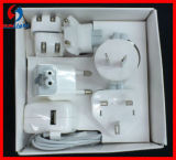 Mobile World Travel USB Charge Adapter Kit