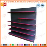 Punched Back Holes Panel Metal Display Shelf for Supermarket (Zhs44)
