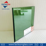 6.38mm Dark Green Laminated Glass with High Quality