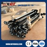 Rubber Torsion Axle 550kg/Travel Trailer Axle 750 Kg/1000 Kg/1500kg/1800kg with/Without Brake