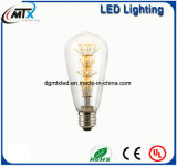 LED bulbs Vintage Edison Bulb LED 3W ST64 Incandescent Light lamp Bulb E27 Light LED Bulb Filament Bulb Lighting
