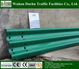 Hot Dipped Galvanized and Plastic Powder Sprayed Highway Guardrail
