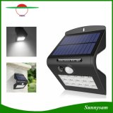 4 Working Modes Solar Light Motion Sensor Wall Lamp 15 LED Solar Garden Light Outdoor Security Lamp