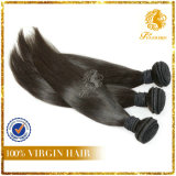 7A Grade 100% Virgin Unprocessed Peruvian Remy Human Hair Extension Silky Straight Weft