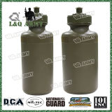 High Quality 500ml Aluminium Military Water Bottle with Mess Tin