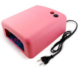 Factory Price Nail Art 36W with 120s Timer 818 UV Lamp $4.05/Piece 6 Hot Colours Gel Cure Lamp