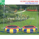2 in 1 Inflatable Bungee Trampoline for Sale (BJ-BU09)