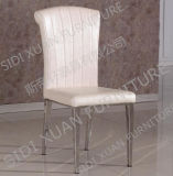 2015 Classic Chair Stainless Steel PU Dining Chair Fashion Living Room Dining Chair (CY316)