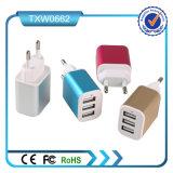 3 USB 5V 2.1A European Home Charger Plug