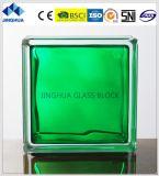 Jinghua High Quality in-Colored Green 190X190X80mm Glass Brick/Block