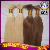 Brown Color Virgin Indian Human Hair Extensions