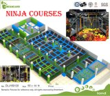 Trampolines with Many Games Like Ninja Course Newest Trampoline Park