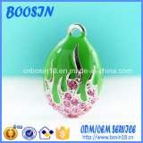 Custom High Quality Enamel Metal Egg Charm for Jewelry
