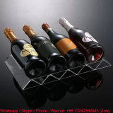 Eco-Friendly Free Standing Clear Acrylic Wine Rack