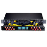 24 Cores Fiber Optic Patch Panel with St Connector (JFOPP-R&D24)