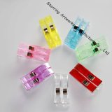 New Arrival Assorted Colors Plastic Patchwork Fabric Quilt 57mm Wonder Clips