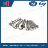 GB823 Stainless Steel Cross Recessed Round Head Screw