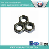 Hexagon Flat Nuts with Carbon Steel