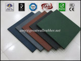 600*600 Thickness 15-30mm Outdoor Playground Square Rubber Flooring Mat Tile