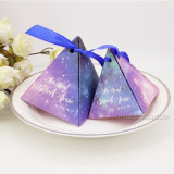 Star Pattern Triangle Gift Box Candy Boxes for Wedding Party Packaging Box