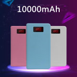 2.1A Quick Charging Ultrathin Power Bank 10000mAh with LED Torch