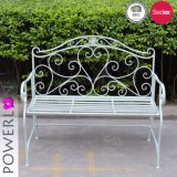 Vintage Antique Metal Material Patio Bench Specific Use for Garden