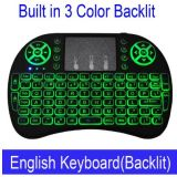 Mini I8 Wireless Keyboard 3 Colour Backlit 2.4GHz English Russian Remote Control Touchpad for Android TV Box Tablet PC Smart TV