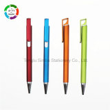 2017 New Plastic Click Ball Point Pen Office Stationery for Promotional Gift