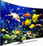 New Design LCD Curved Screen LED TV New 55-Inch Curved 4K TV