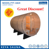 New Sauna Cedar Sauna Bath Portable Barrel Sauna for Christmas