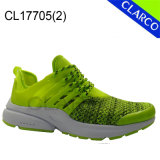 Fashion Ladies Flyknit Mesh Sports Runner with Cushion Sole