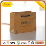 Pure Gold Embossing Diamonds Cosmetics Chain Special Paper Bag