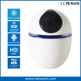 128g SD Card 1080P Battery Powered WiFi IP Camera with 360 Degree Auto Tracking