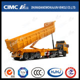 Cimc Huajun 3axle U-Cargo Tipping Trailer