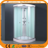 Simple Shower Room White Glass (ADL-8705)