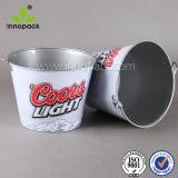 Decorative Custom Design Ice Bucket, Garden Bucket with Metal Handle for Wholesale