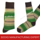 Men′s Bamboo Fashion Sock (UBM-028)