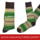 Men′s Bamboo Fashion Sock (UBM-028)