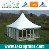 Guangzhou Aluminum Frame ABS Sidewall Pagoda Tent for Sale
