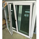European Style Solid Wood Aluminum Tilt and Turn Window