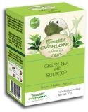 Soursop Flavored Green Tea Pyramid Tea Bag Premium Blends Organic & EU Compliant (FTB1509)